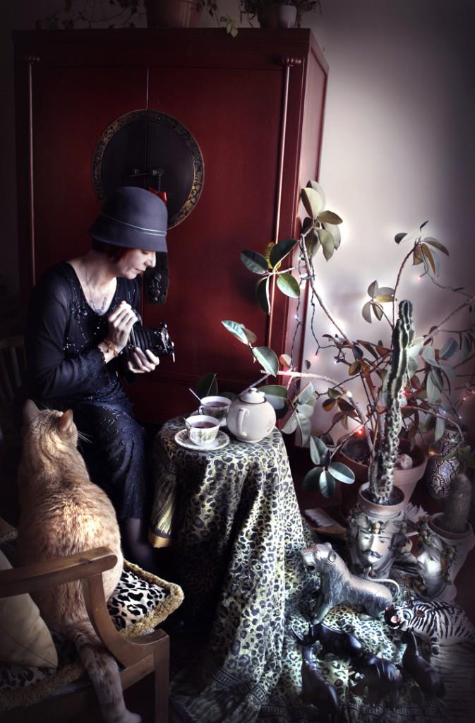 """Ottavia Castellina, dalla serie """"Dream-cabinets"""", 2013"""