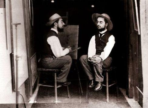 Maurice  Guibert, Toulouse l Lautrec, 1892
