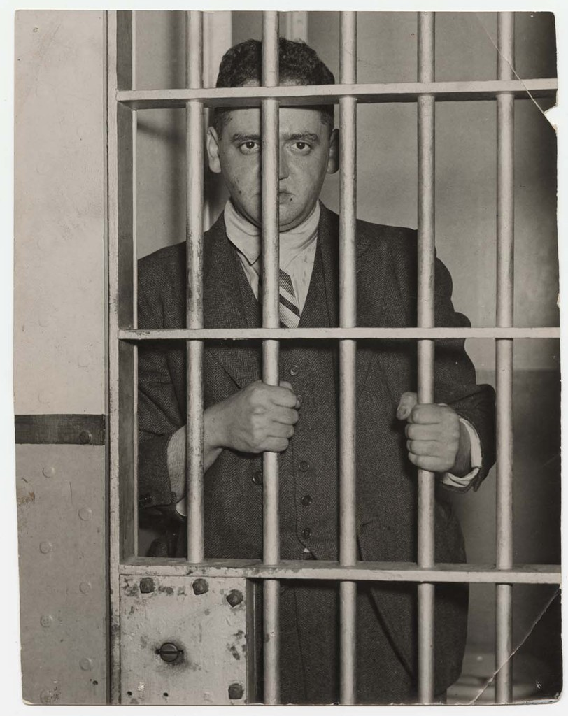 "Weegee (Arthur Fellig), ""Behind Bars"", 1937"