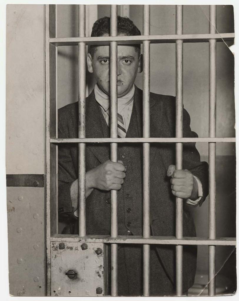 "Weegee (Arthur Fellig), ""Behind Bars"", 1937"