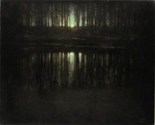 "Edward Steichen, ""The Pond Moonlight"", 1904"