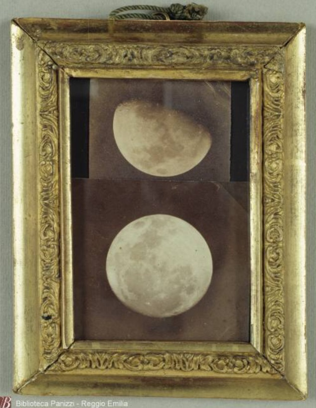La Luna fotografata da Padre Angelo Secchi, 1857