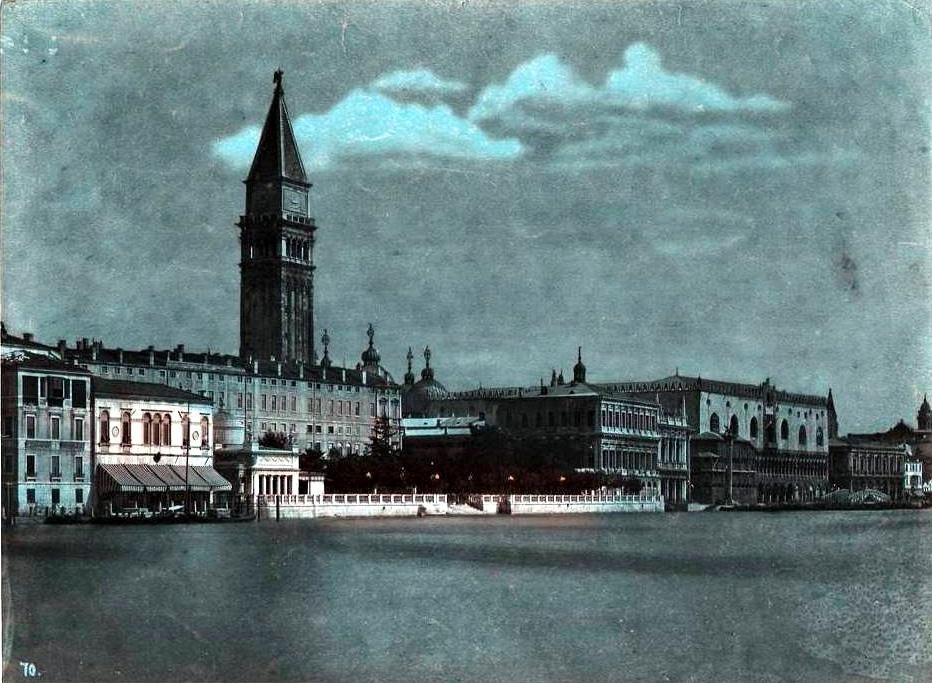 Finto notturno veneziano di Carlo Naya, ante 1882