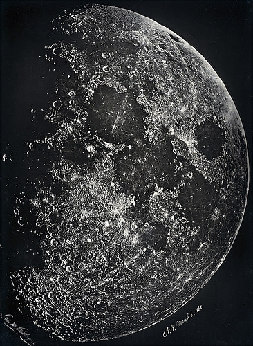 "Lewis Ruthefurd, ""La luna"", 1865"