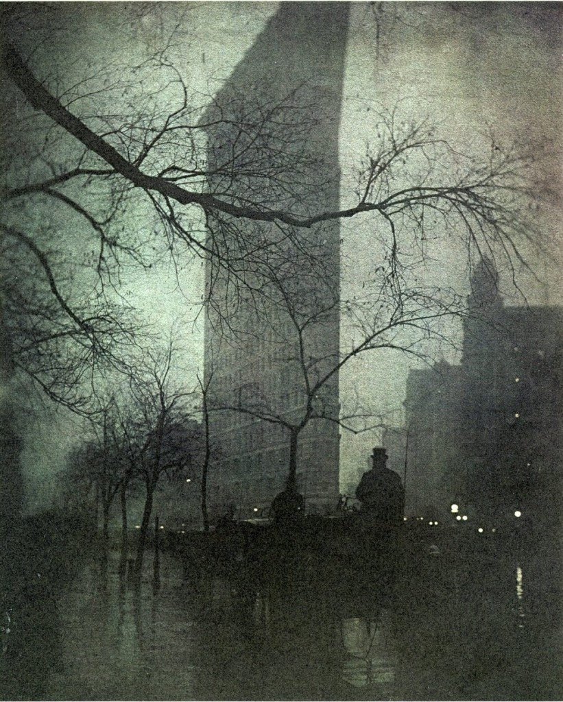 "Edward Steichen, ""The Flatiron Evening"", 1906"