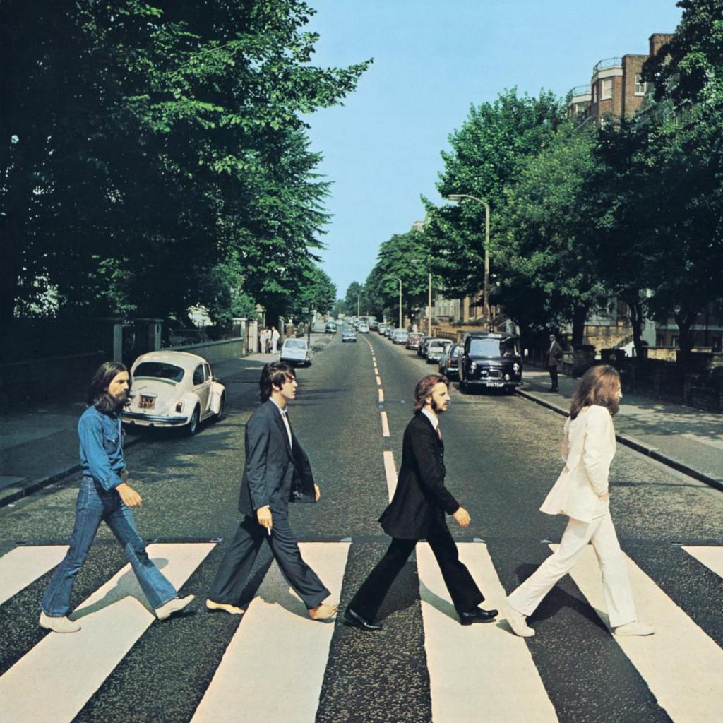 """La copertina di """"Abbey Road"""", 1969"""