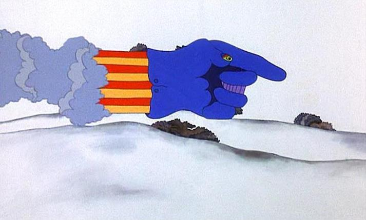 "Il ""Flying Glove"" di ""Yellow Submarine"""