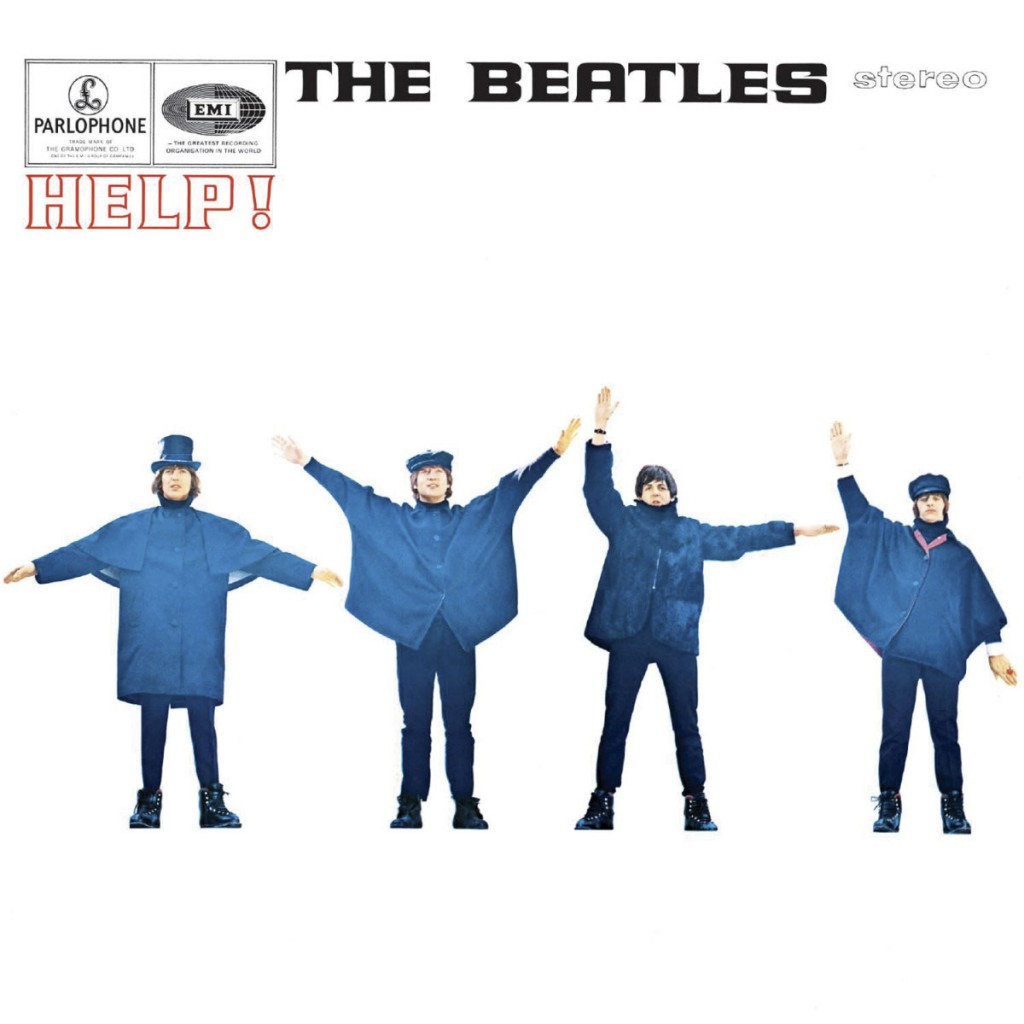 "La copertina di ""Help!"", 1965"