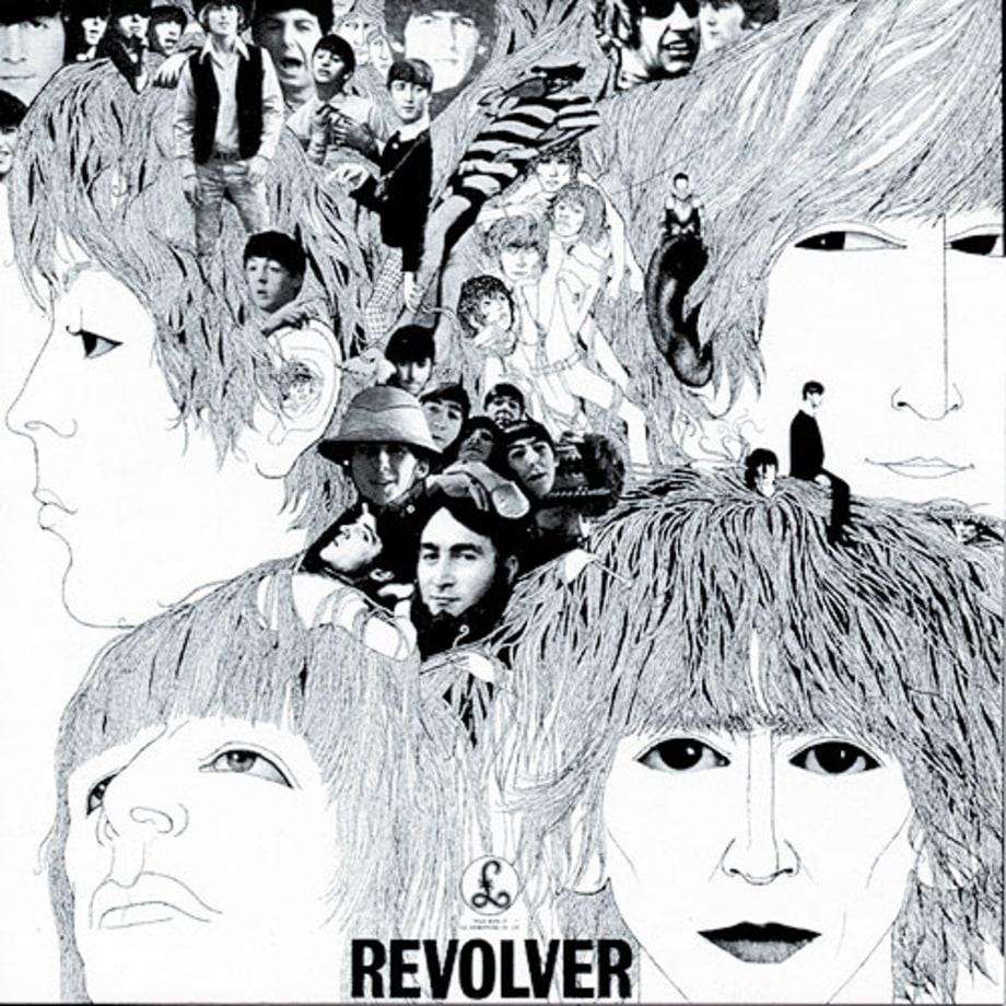 """La copertina di """"Revolver"""", 1966"""