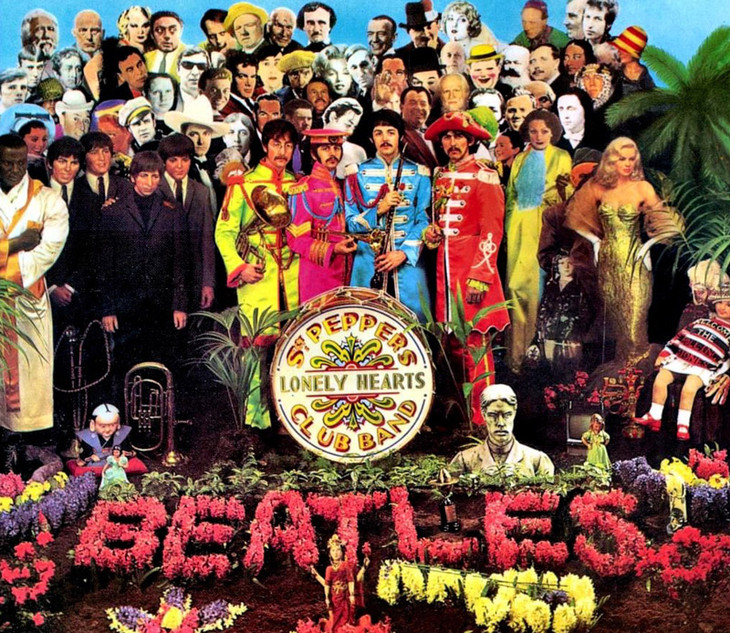 "La copertina di ""Sgt Pepper's Lonely Hearts Club Band"", 1967"